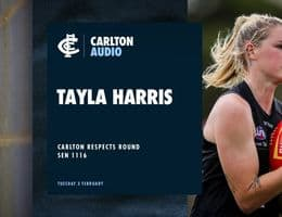 Harris Previews Carlton Respects Game